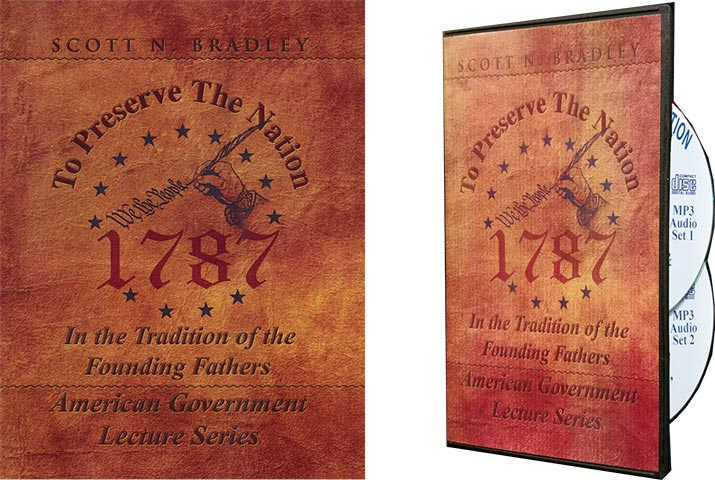 Book - To Preserve the Nation by Scott Bradley
